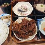 古長 - 料理写真:お昼の焼き肉定食。