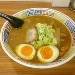 ラーメン 八雲 - 味噌・味玉トッピング 2016.10月