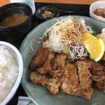 モンテローザ - 料理写真:トンテキ定食