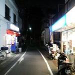 中華そば ターキー - こじんまりとした商店街の一画にあります。