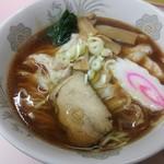 中華そば ターキー - ワンタンメンのアップ(¥650)