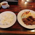 グリルママ - 牛焼肉ランチ