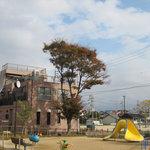 ポジティブフードカフェボウ - 公園の中の一軒家