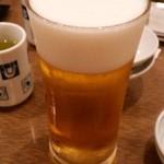 鳥ぎん - ビール中生