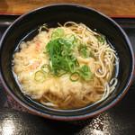 まねきのえきそば - えきそば天ぷら  ¥360
