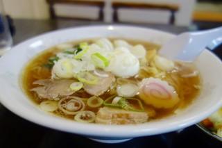 本田屋食堂 - [2016/09]中華そば(500円)