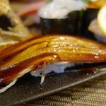 松寿司 - [2016/10]特上寿司(2450円)・あなごの握り