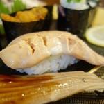松寿司 - [2016/10]特上寿司(2450円)・あん肝の握り