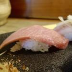 松寿司 - [2016/10]特上寿司(2450円)・まぐろの握り