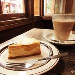 さらさ焼菓子工房 - パンプキンチーズケーキ チャイ