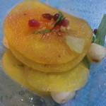 グリーングルメ - 旬の果実「柿」のサラダ