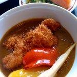 レストランオリビエ - 元気鶏カツカレー 800円