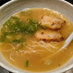 将丸 - 和LA-麺 650円 バランス型の食べやすい一杯。 〆には良いかも♪