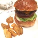 57424420 - Avocado Cheese Burger