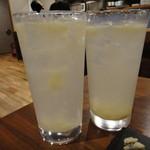 シュガー サケ アンド コーヒー - 自家製レモンサワー