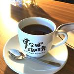 57426834 - ランチセットのコーヒーはMサイズ
