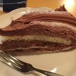 珈琲小屋 なみま - チョコナッツケーキ