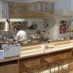 curry DELHI グルメ - オープンキッチンです!