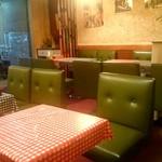 タニマ - 赤と青のギンガムチェックのテーブルクロス
