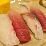 かまた寿司 - 料理写真:201610 ランチ一人前1100円