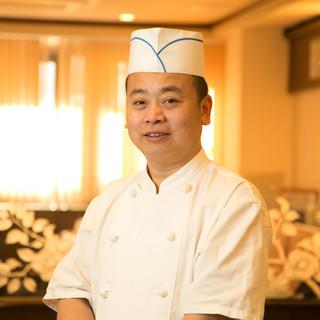中国広東省にある5つ星ホテルで経験を積んだ料理長による逸品!