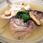 Gyokainonobu - 真鯛酒蒸し で京都で食べてるような上品なうまさ