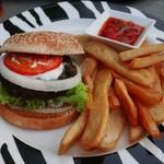 57431374 - safari Lamb Burger(17.9$)