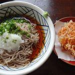 鐘庵 - 桜えびかき揚げ鐘庵矢作店(愛知県)食彩品館.jp撮影