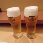 すし屋のきた浜 - ビール