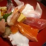 日本海庄や - 彩り海鮮丼