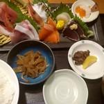 日本海庄や - 刺身定食
