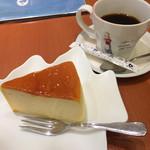 ケーキカフェ・ノエル - チーズケーキ