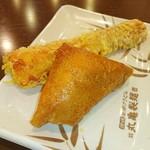 丸亀製麺 - いなり♥ちくわ天♥ (*´∀`)♪