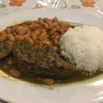 ポヨ リーコ - 料理写真:セコ コンビナード 牛肉と豆の煮込み 1,250円。