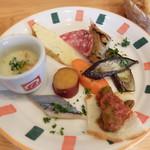 Cucinetta come prima  - 前菜盛り合わせ(ランチパスタAセット)