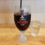 Cucinetta come prima  - アイスコーヒー(ランチパスタAセット)