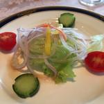 かじ池亭 - サラダ シャキシャキで美味