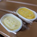 スイーツ・チェリッシュ - 料理写真:半熟チーズ(ノーマルとパンプキン)