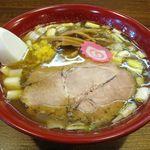 拉麺Shin. - 店主の気まぐれのドアップ