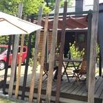 コジシタ八ヶ岳 - テラス席でのんびりランチ