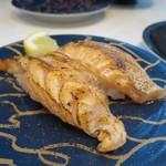 廻鮮鮨ととぎん - 炙りトロサーモン