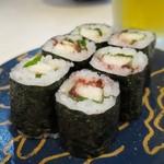 廻鮮鮨ととぎん - 山芋梅巻