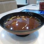 廻鮮鮨ととぎん - 赤出汁