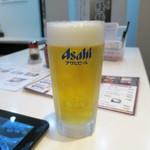 廻鮮鮨ととぎん - 生ビール