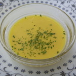 とれたて野菜 キッチン加賀田 - ランチのスープ