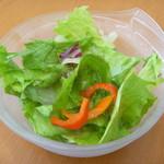 とれたて野菜 キッチン加賀田 - ランチのサラダ