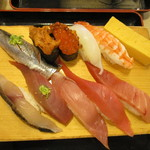 沼津魚がし鮨  - 早得握りプレミアム