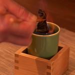 和菜 やなぎ  ふぐ はも - ひれ酒