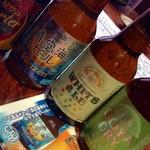 沖縄 肉酒場 ぬちぐすい - 沖縄クラフト瓶ビール!瓶ビールは珍しいのです。