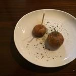 ガーリック ガーリック - マッシュルームのオリーブオイル焼き